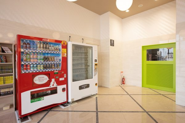 自販機コーナーの画像